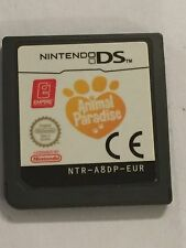NINTENDO DS NDS DSL NDSL DSi GAME CARTRIDGE ONLY ANIMAL PARADISE