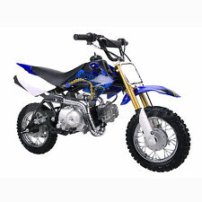 Coolster QG-213A New 110cc Fully Auto  Mini Size Kids Dirt Bike M Blue