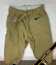 Pittsburgh Steelers Game Used/Worn Player Undetermined Nike Throwback Game Pants