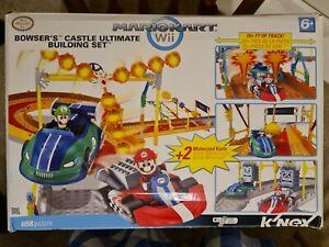 K'NEX Mario Kart Wii Race Track - Bowser's Castle Ultimate Building Set