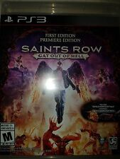 PS3 Saints Row: Gat Out of Hell Game |BRAND NEW FACTORY SEALED Playstation 3