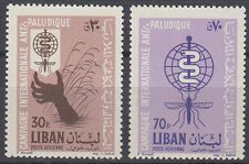 Libanon Lebanon 1962 ** Mi.784/85 Malaria