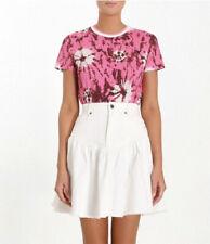 Designer BNWT Zimmermann 'Amari' Style Size 10 AU Tie Dye Women's T-Shirt