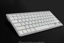 2016 White Bluetooth Wireless Keyboard Keypad Slim For Apple iPad Laptop PC