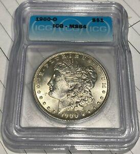 1900-O Beautiful New Orleans Minted ICG MS64 Morgan Silver Dollar