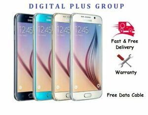 Samsung Galaxy S6 32GB 64GB 128GB (Unlocked) Black Gold White Blue * Grad A++++