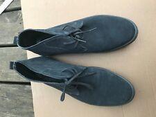 Calvin Klein Jae Gray Suede Chukka Boots Mens Shoes SIZE 12