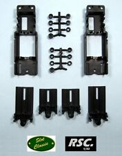 2X SLOT CLASSIC ADJUSTABLE CHASSIS 1/32 - CHASIS REGULABLE - PCS RESIN BODY OCAR