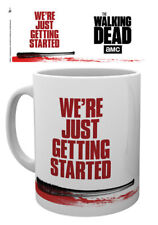 WALKING DEAD JUST GETTING STARTED LOGO MUG NEW GIFT BOXED 100% OFFICIAL MERCH