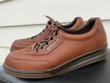 MENS MEPHISTO MATCH RUNOFF WOOD GRAIN BROWN LEATHER SHOES SIZE 15 (NO INSOLE)