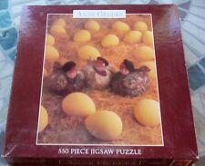 Anne Geddes 550 Piece Jigsaw Puzzle Babies Chickens Eggs