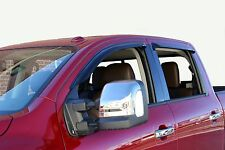 Tape-On Vent Visors for a 2016 - 2018 Nissan Titan XD Crew Cab
