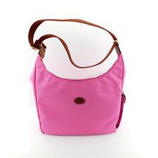 New LONGCHAMP Le Pliage Hobo Bubble Gum Pink Shoulder Bag