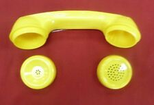 New Yellow Handset Shell & Caps Payphone Handsets Pay Phone Prison Telephone 500