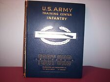 1959-1960 U.S. ARMY Training Center Infantry Fort Ord, California Yearbook