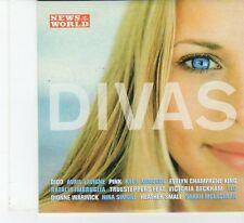 (FR52) News Of The World Presents Divas, 12 tracks various artists - 2004 CD