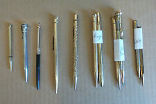 INSTANT COLLECTION, (12) VINTAGE GOLD FILLED / SILVER PLATED MECHANICAL PENCILS