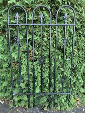 Large Antique Style Steel Garden Fence Gate Architecture