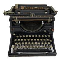 Underwood Typewriter No. 5 Vintage Antique 1920's Standard Typewriter #2322854-5