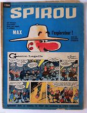 A)SPIROU N°1366 Avec le mini récit  / Max l'explorateur/ Cyril Sinclair