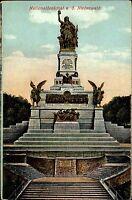 Rüdesheim Hessen Rheingau AK ~1910 Nationaldenkmal Denkmal Niederwald Standbild
