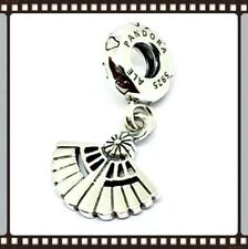 Pandora Silver Vintage Fan Dangle Charm S925 ALE