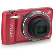 Minolta MN12Z 20MP 720p HD Digital Camera with 12x Optical Zoom, Red #MN12Z-R