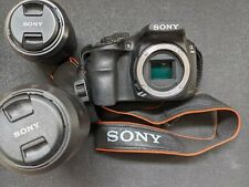 Sony Alpha a3000 20.1MP Digital Camera - Black (Kit w/ two Lenses)