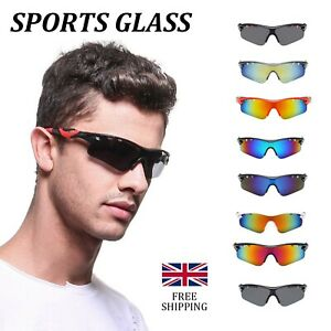 Anti-Shock Outdoor Cycling Sunglasses Biking Running Fishing Golf Sports Glasses
