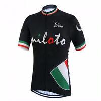 Men's Cycling Bike Wear Jersey Top Short Sleeve Bicycle Shirt Coolmax S-5XL