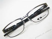 Eyeglass Frames-Oakley carbon plate OX5079-0255 Light 55mm Titanium Glasses New