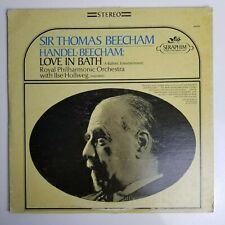 Sir Thomas Beecham Handel Beecham Love In Bath LP 60039