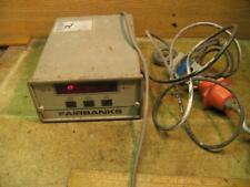 Fairbanks Scale Digital Reader UMC2000-50 w/ SSM500 Load Cell
