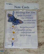 LEANIN TREE A Blessing For You #35419 - God has promised - 8 Notecards Blank