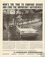 1957 Chrysler Corp DeSoto LARGE Print Ad for 1958