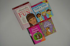 American Girl Books Lot of 4 Samantha Just For Fun, Lend A Hand, Second Chances