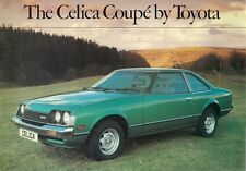 Toyota Celica Coupe 1600 ST 1979-80 UK Market Sales Brochure