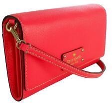 Kate Spade Clutch Cross Body Bag Natalie Wellesley Hot Rose Pink Small Handbag