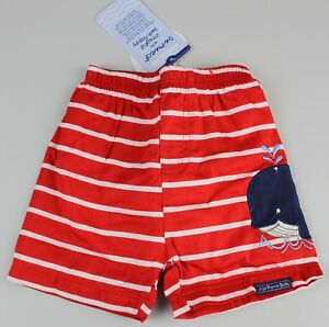 Jojo Mamam Bebe Bade Shorts Badehose Schwimmhose Wal 0-3M Schwimmwindel K22-W