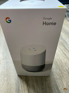 Google Home Hands-Free Voice Commands Assistant Smart Speaker White GA3A00485A03