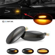 Dynamische LED Seitenblinker für Opel Vectra B Caravan Irmscher i500 i30 Schwarz