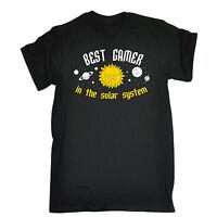 BEST GAMER IN THE SOLAR SYSTEM T-SHIRT geek nerd joke funny birthday gift 123t