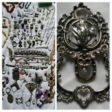Antik,TRACHTENSCHMUCK,Silber 835 Charivari,Trachten, Rockstecker,Trachtenstecker