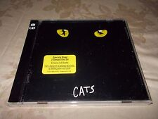 CATS  Original Broadway Cast Recording 2 CD 1983 Polydor/BMG- NEW FREE SHIPPING