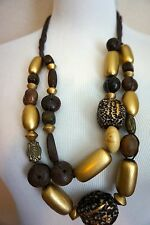 ANTHROPOLOGIE Statement Bead Bib Necklace J.o.i.n The Chic Crew!