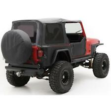 Jeep Wrangler YJ Soft Top 87-95 OEM Replacement Tinted Windows Black Den 9870215