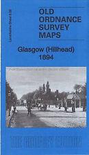 OLD ORDNANCE SURVEY MAP Glasgow Hillhead 1894: Lanarkshire Sheet 6.06a