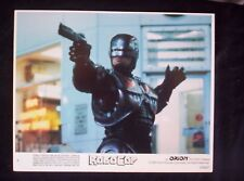 ROBOCOP Lobby cards Complete set of 8 PETER WELLER 1982