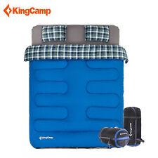 KingCamp Double Sleeping Bag Mattress Mat Pad Pillows Portable Outdoor Travel
