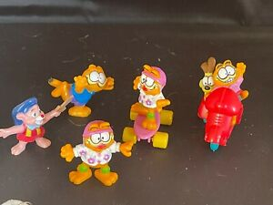 McDonald's  Fast Food Happy Meal Toys Garfield Cat Lot